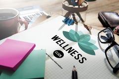 Le bien-être détendent le concept d'exercice d'équilibre de nature de bien-être Image libre de droits