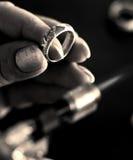 Le bijoutier Images libres de droits