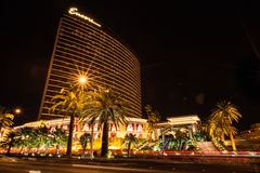 Hôtel et casino de Las Vegas de bis Images libres de droits