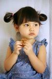 Le biscuit de Jessica Photos libres de droits