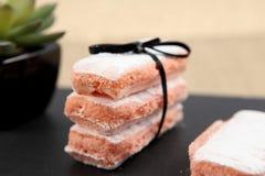 Le biscuit s'est levé De Reims Photographie stock