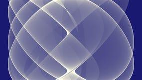 Le blanc courbe l'illustration photographie stock libre de droits