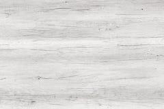 Le blanc a lavé la surface en bois molle comme texture de fond Photographie stock