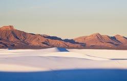 Le blanc ponce le monument national [Nouveau Mexique] Photographie stock