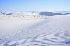 Le blanc sable le monument national Photos stock