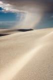Le blanc sable le monument national photographie stock libre de droits