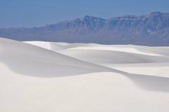 Le blanc sable le monument national, Mexique