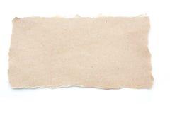 Le blanc vide réutilisent le papier de papier de larme photo libre de droits