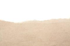 Le blanc vide réutilisent le papier de papier de larme photo stock