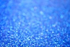 Le bleu abstrait bouillonne fond Photos stock