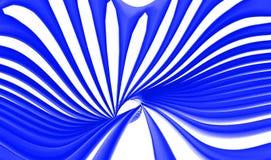 Le bleu abstrait tourbillonne des lignes fond Images libres de droits