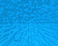 Le bleu bloque le fond Image libre de droits
