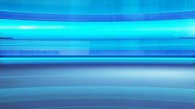 Le bleu cube le fond Photographie stock