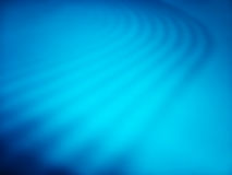 Le bleu diagonal ondule le fond de bokeh Images stock