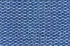 Le bleu filète le plan rapproché de macro de modèle de tissu Image stock