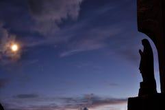 Le bleu prient Photo libre de droits