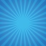 Le bleu rayonne le fond Images libres de droits