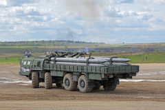Le BM-30 Smerch Photo stock