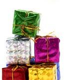 Le boîte-cadeau empilent  photographie stock