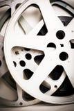 Le bobine di film svuotano l'effetto d'annata Fotografie Stock Libere da Diritti