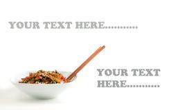 Le boeuf asiatique Remuer-Font frire images stock