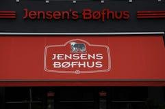 LE BOFHUS DE JENSEN image stock