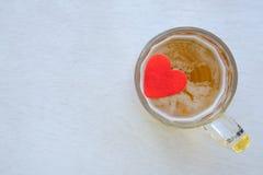 Le boire ruine l'amour Photos stock