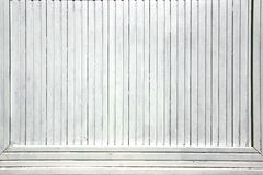 Le bois blanc embarque le panneau de la publicité images libres de droits
