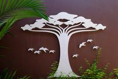 Le bois décorent Photos libres de droits