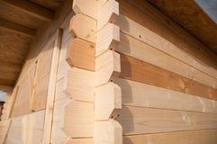 Le bois embarque des joints Photo stock