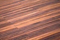 Le bois lambrisse la texture de fond Photos libres de droits