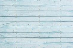 Le bois lambrisse la texture de fond dans la couleur bleu-clair photographie stock