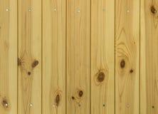Le bois lambrisse le fond Photos libres de droits