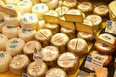 Le Bois Plage en Re, France - september 27 2016 : covered marke. Le Bois Plage en Re, France - september 27 2016 : the covered market Royalty Free Stock Photo