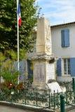 Le Bois Plage en Re, France - september 27 2016 : picturesque v. Le Bois Plage en Re, France - september 27 2016 : the war memorial Royalty Free Stock Images