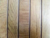 Le bois rapièce les textures brunes et la pierre de morceaux Photos libres de droits