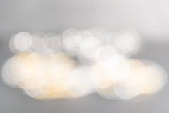 le bokeh brouillé allume la lumière abstraite defocused de fond Image stock