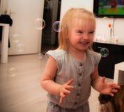 Le bolle Fotografia Stock