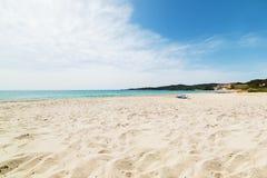 Le Bombarde beach Royalty Free Stock Photos