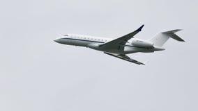 Le bombardier BD-700-1A10 d'avion global expriment Photographie stock libre de droits