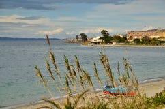 Le bord de mer le plus célèbre de l'Italie photos libres de droits
