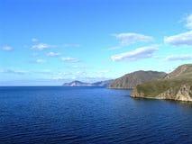 Le bord de mer rocheux Photo libre de droits