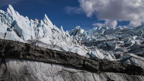 Le bord du glacier Photos libres de droits