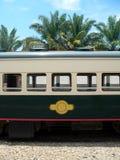 Le Bornéo. Chariot de train (fabriqué en Grande-Bretagne) Photos libres de droits