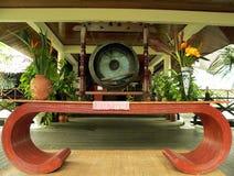 Le Bornéo. Gong et Tableau Photos stock