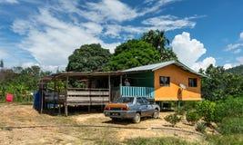Le Bornéo vivant rural Photographie stock libre de droits