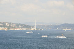 Le Bosphorus Image stock