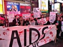 Le BOUCHON que nous mourons toujours facilite la protestation NYC le 29 novembre 2017 Images libres de droits