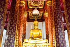 Le Bouddha antique sur 500 ans Photo libre de droits