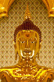 Le Bouddha d'or Images libres de droits
